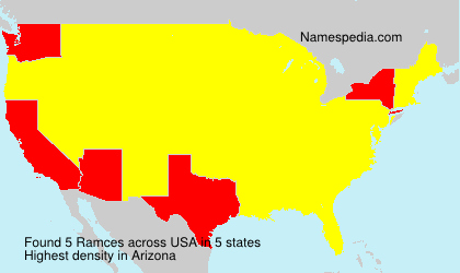 Surname Ramces in USA