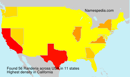 Surname Randeria in USA