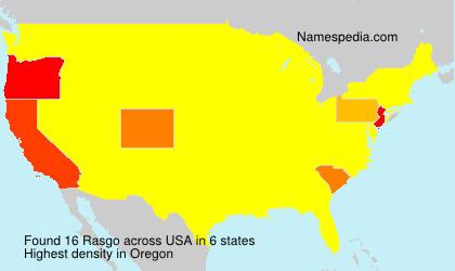 Surname Rasgo in USA