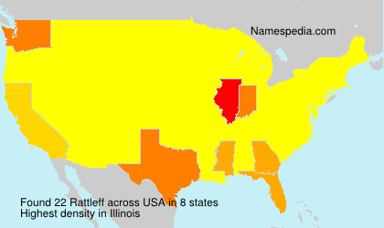 Surname Rattleff in USA
