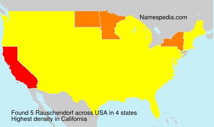 Rauschendorf - USA