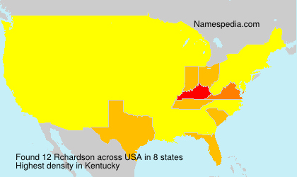 Surname Rchardson in USA