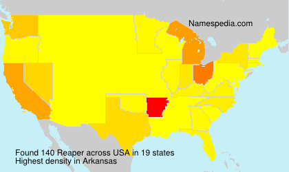 Surname Reaper in USA