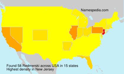 Surname Redmerski in USA