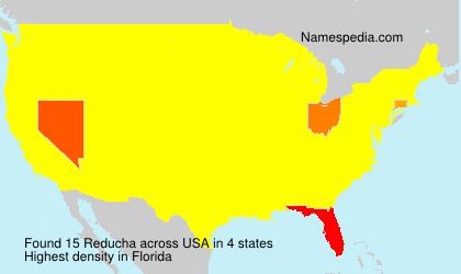 Surname Reducha in USA