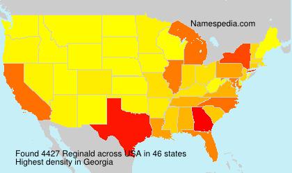 Surname Reginald in USA