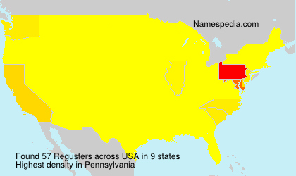 Surname Regusters in USA
