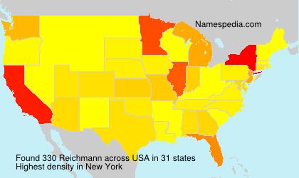 Familiennamen Reichmann - USA