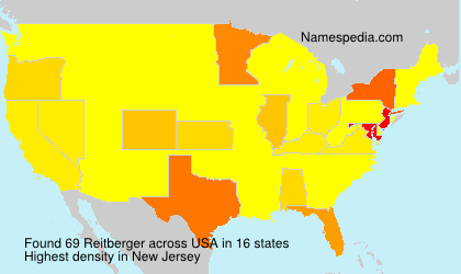 Surname Reitberger in USA