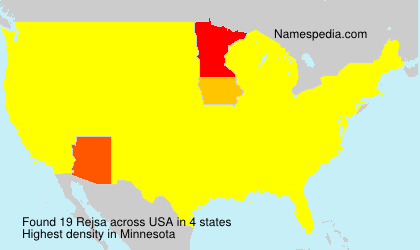 Surname Rejsa in USA