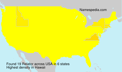 Surname Relator in USA