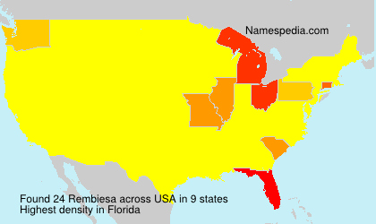 Surname Rembiesa in USA