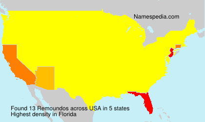 Surname Remoundos in USA