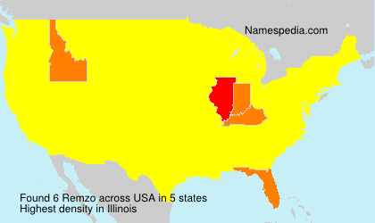 Surname Remzo in USA