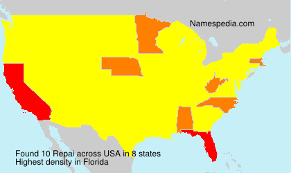 Surname Repai in USA