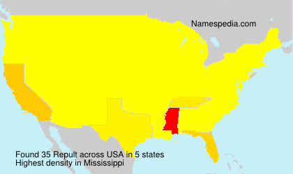 Surname Repult in USA