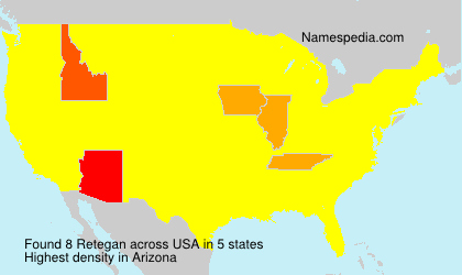Surname Retegan in USA