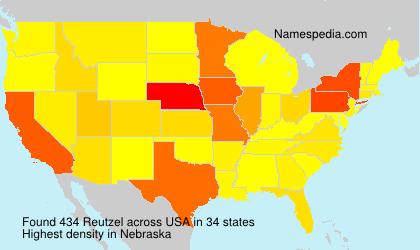 Surname Reutzel in USA