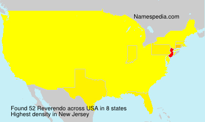 Surname Reverendo in USA
