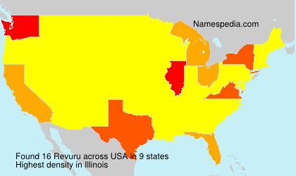 Surname Revuru in USA