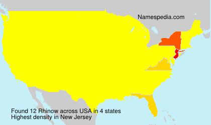 Rhinow - USA