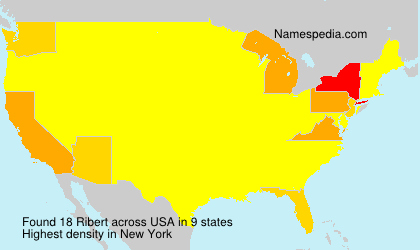 Surname Ribert in USA