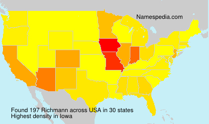 Surname Richmann in USA