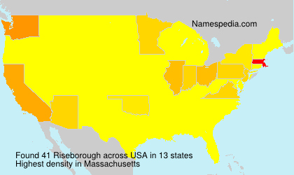 Riseborough - USA