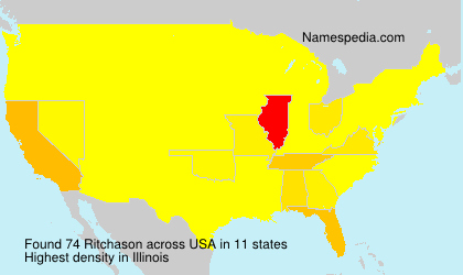 Surname Ritchason in USA