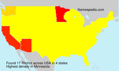 Surname Ritchot in USA