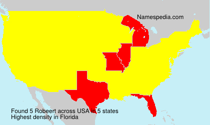 Surname Robeert in USA