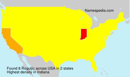 Surname Roguljic in USA