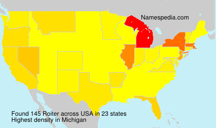 Surname Roiter in USA