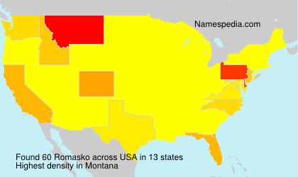 Surname Romasko in USA