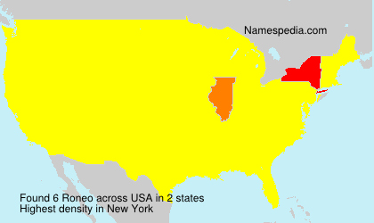 Surname Roneo in USA