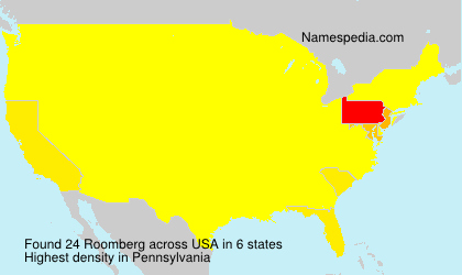 Surname Roomberg in USA