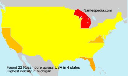 Rossmoore - USA