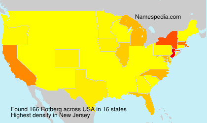 Surname Rotberg in USA