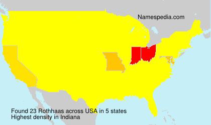 Rothhaas - USA