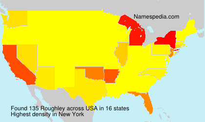 Surname Roughley in USA
