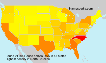 Surname Rouse in USA