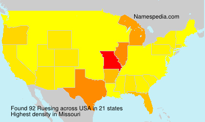 Ruesing - USA