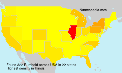 Surname Rumbold in USA