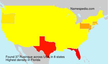 Rusinque - USA