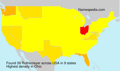 Surname Ruthemeyer in USA