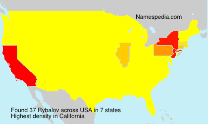 Surname Rybalov in USA