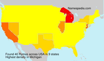 Surname Rymas in USA