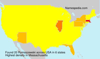 Surname Rymaszewski in USA