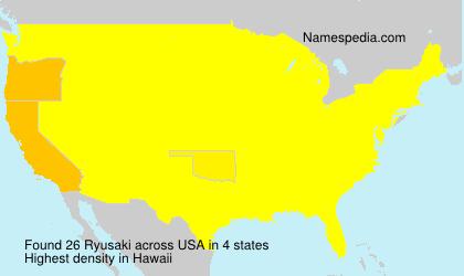 Ryusaki - USA