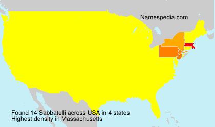 Sabbatelli - USA